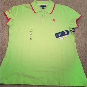 Women U.S polo t shirt